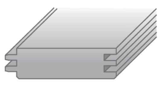 Brandschutzschalung Skizze für Holz Carport