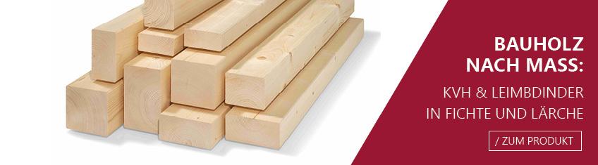 Häufig Bauholz: Leimbinder und Konstruktionsvollholz ID04